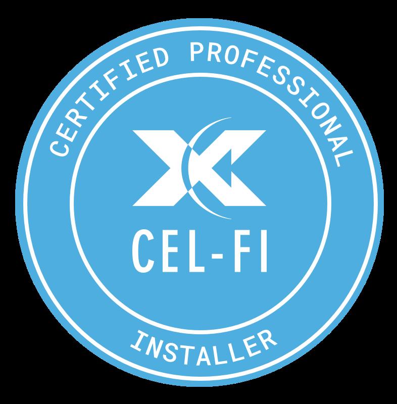 Cel-Fi Certified Installer Badge