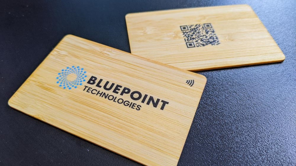 Bluepoint-bamboo-business-cards